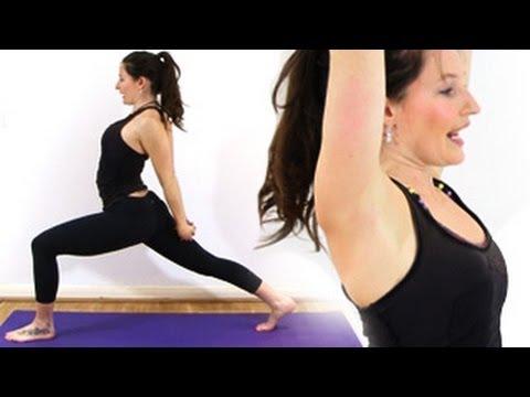 Yoga for Beginners : Humble Warrior & Lizard Pose