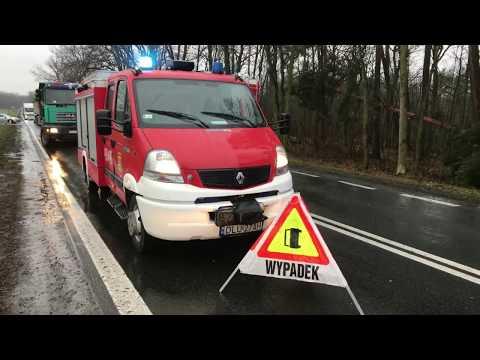 Wideo: Wypadek pod Osiekiem