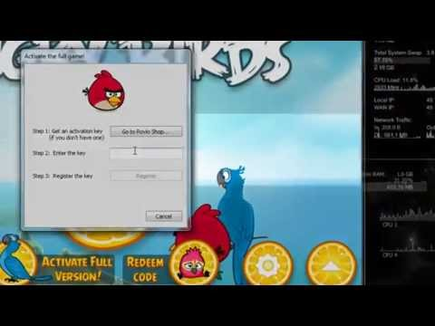 Angry Birds Rio Full version+Patch+Serial .mp4