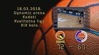 kk beovuk kk sava 72 67 (kadeti, 18 03 2018 ) košarkaški klub sava