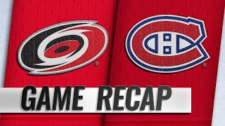 Petry, big 3rd help Canadiens topple Hurricanes, 6-4 by NHL