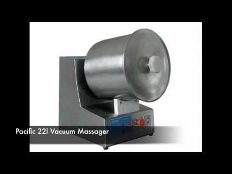 Pacific Kebab Machine, 750l Vacuum Massager, 22l Vacuum Massager, Hamburger Flattener