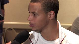 Stephen Curry Draft Combine Interview