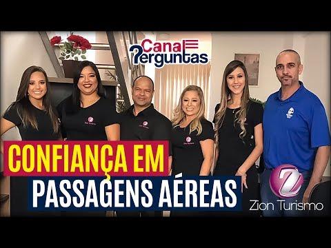 Vlog: confiança em passagens aéreas – Zion Turismo BH Minas