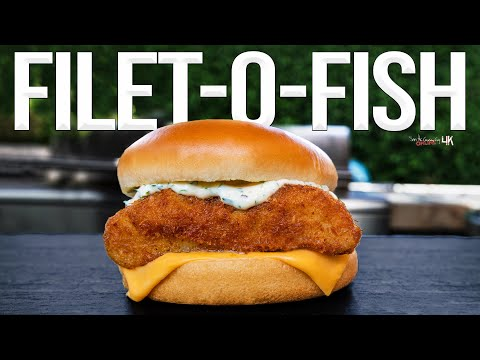 The Best Homemade Filet-O-Fish | SAM THE COOKING GUY 4K