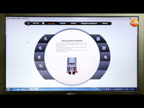 Testo 570 - Step 4 - How to use EasyKool Software