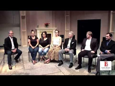 LBCC - Meet the Director and Cast: 'Lord Arthur Savile's Crime'