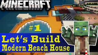 Minecraft Let's Build: Modern Beach House