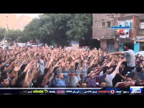 مسيرة ضخمة لأولتراس نهضاوى بالمطرية