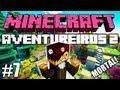 "Minecraft: Feromonas e os Aventureiros 2 - Multiplayer #7 - ""Armadilha Mortal!"" =D"