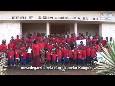 Video sobre la experiencia con arte-terapia en República Democrática del Congo