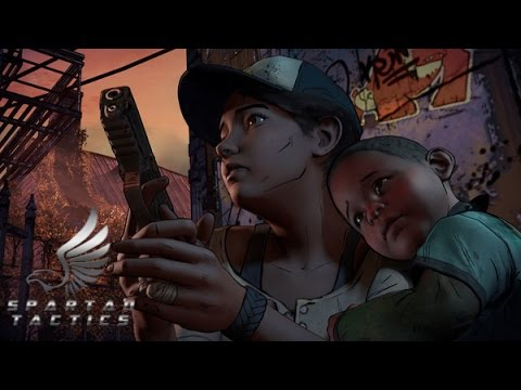 The Walking Dead A new Frontier episode 3 Above The Law  part 2 (TWDNF)