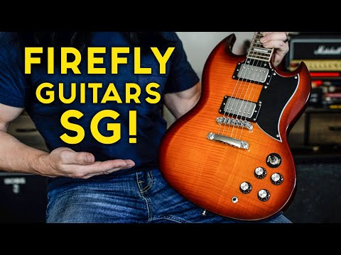 UNDER $200 - Firefly Guitars NEW Set-Neck SG Style Guitar