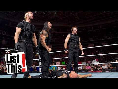 5 Legends The Shield eliminated: List This! (видео)