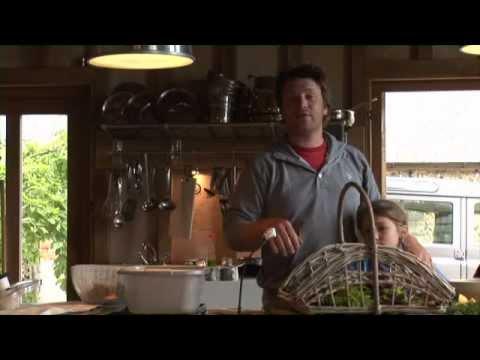 Jamie Oliver live, second webcast – salads
