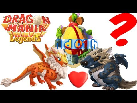 Lynx Dragon + Wolf Dragon Did Breed What ?- Dragon Mania Legends (видео)