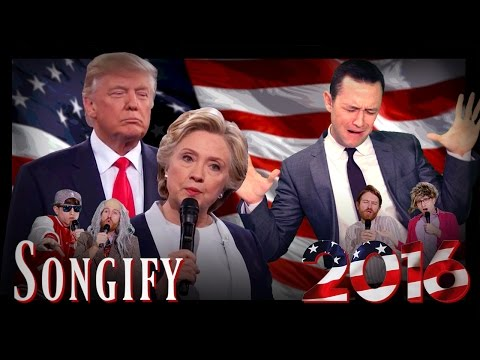 A Musical Remix of the Second 2016 Presidential Debate by The Gregory Brothers and Joseph