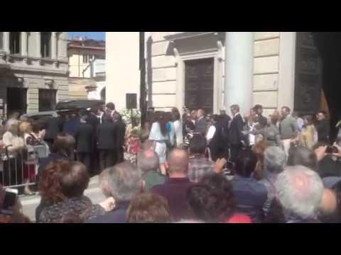 I funerali di Ottavio Missoni