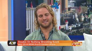 Inaugural Wrestling Event At MGM Grand Garden Arena