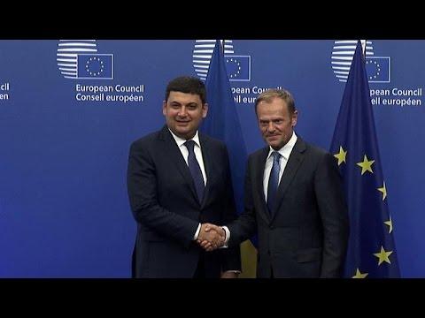 Ο Ουκρανός πρωθυπουργός στο euronews