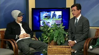 Eminem Hilarious Interview with Stephen Colbert on Only In Monroe