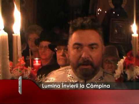 Lumina Învierii la Câmpina