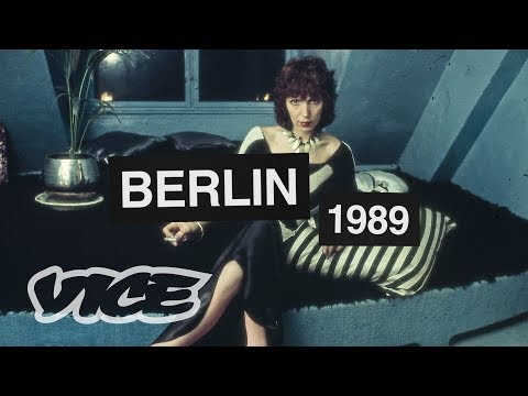 Berlin's Legendary Fashion Icon on the Explosion of Culture in 1989