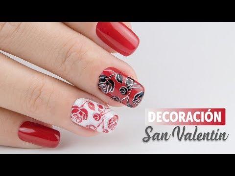 Decoracion de uñas - Especial uñas San Valentín  Manicura24
