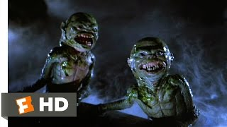 Ghoulies (7/11) Movie CLIP - Ghoulies in the Pond (1985) HD