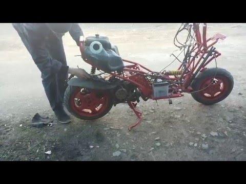 Italjet Dragster 125 Тест #1