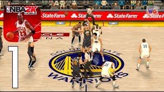 NBA 2K Mobile [iOS Android] Gameplay Walkthrough Part 1