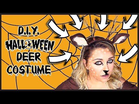 The Halloween serie: D.I.Y. Reindeer costume - Costume da renna fai da te | Giugizu