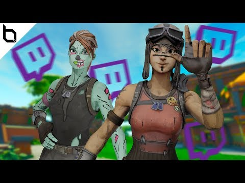 Killing Twitch Streamers With RARE SKINS - Fortnite Battle Royale (Wiz Khalifa)