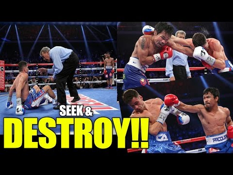 PAC - Superstar Manny Pacquiao destroys Chris Algieri over the course of 12 rounds. Chris tried but like I mentioned to you guys before there are LEVELS to this Sh...