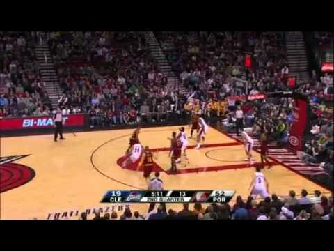 Rudy Fernandez's two steals against Cavaliers