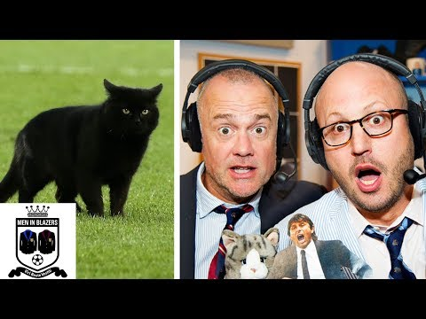 Video: Men in Blazers break down cat pitch invasion during Everton v. Wolves   Premier League   NBC Sports