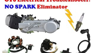 "10. GY6 Electrical Troubleshooting Tutorial - ""No Spark� Eliminator"