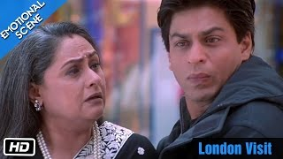 Video London Visit - Emotional Scene - Kabhi Khushi Kabhie Gham - Shahrukh Khan, Amitabh Bachchan MP3, 3GP, MP4, WEBM, AVI, FLV Juni 2018