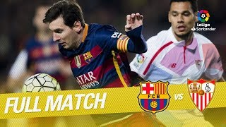 Video Full Match FC Barcelona vs Sevilla FC LaLiga 2015/2016 MP3, 3GP, MP4, WEBM, AVI, FLV April 2019