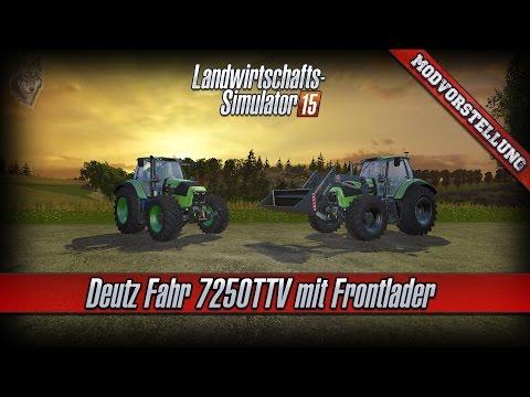 Deutz Fahr 7250FL v3.0 Frontlader