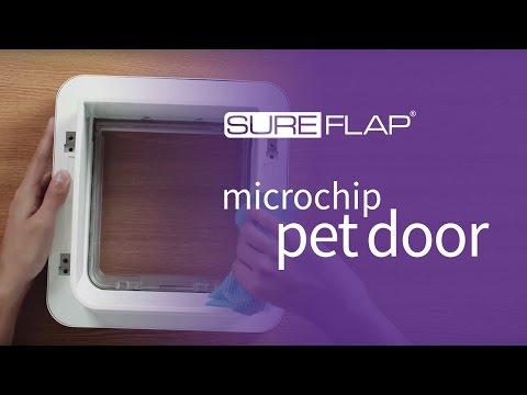 How to clean your SureFlap Microchip Pet Door