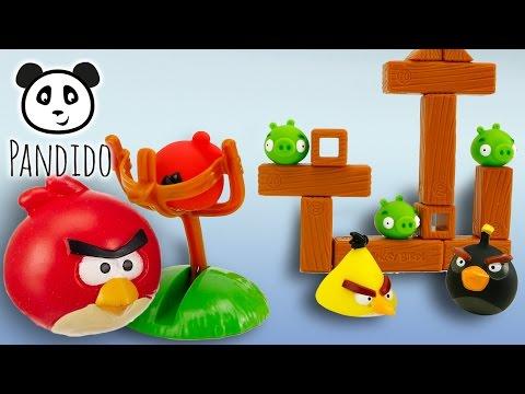 Angry Birds - Spielzeug ausgepackt und angespielt - Pandido TV