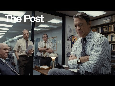 The Post | Tom Hanks As Ben Bradlee | 20th Century FOX