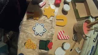 Елочные игрушки своими руками. DIY