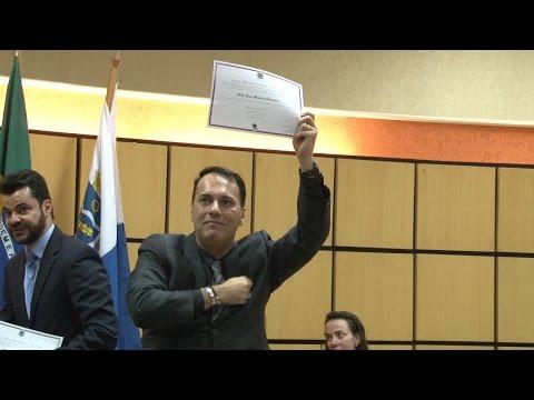 Atila Jacomussi e vereadores são diplomados