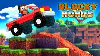 Blocky Roads Trailer