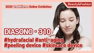 """DIASONO-310"" NEW AESTHETIC SKIN CARE DEVICE youtube video"