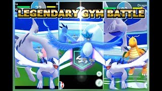 Lugia and Articuno in a gym battle ~ Legendary birds Gym battle in Pokemon GO #pokemongo #pokemon.