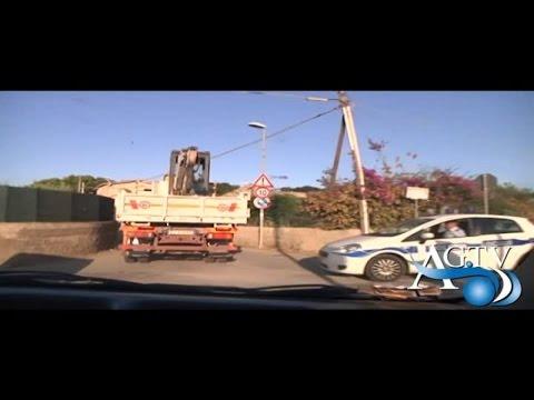 Abusivimo edilizio, ruspe in azione ad Agrigento