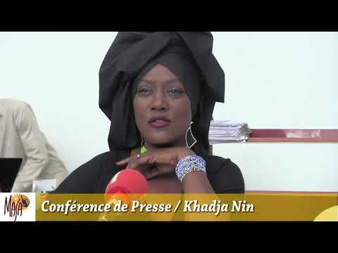 COTE D'IVOIRE : CONFERENCE DE PRESSE Khadja Nin